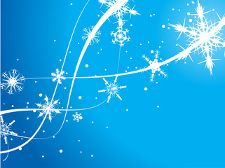 Abstract Christmas wave  background