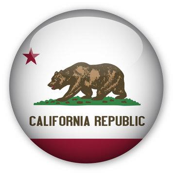 California State Flag Button