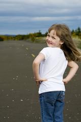 child with a bright future