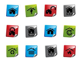 Web icon sticker series