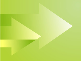 Forward moving arrows pointing right, clipart illustration
