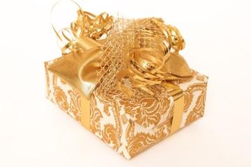 goldenes Weihnachtsgeschenk