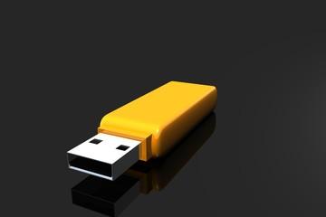 USB Stick Yellow