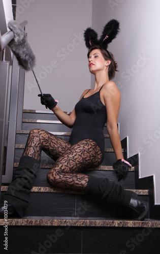 hausfrau kost m stockfotos und lizenzfreie bilder auf bild 10034179. Black Bedroom Furniture Sets. Home Design Ideas