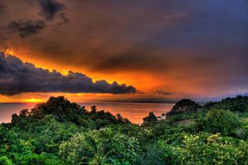 Manuel Antonio, Costa Rica Sunset