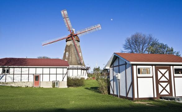 Danish Windmill in Elk Horn, Iowa.
