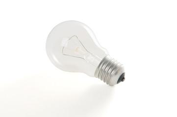 Ligh bulb isolated on a white