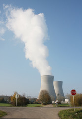 A photography of nuclear power in Germany Gundremmingen