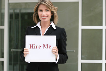 corporate woman for hire, employment unemployment