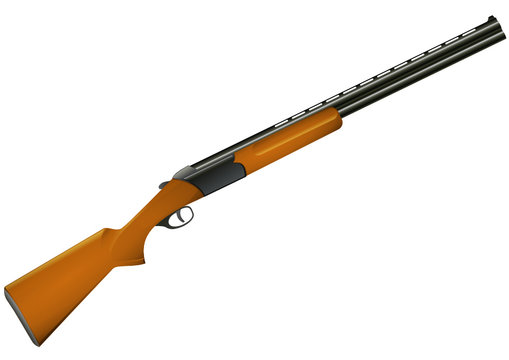 Fusil de chasse (détouré)