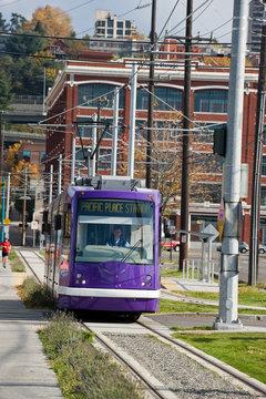 Seattle Lake Union Street car