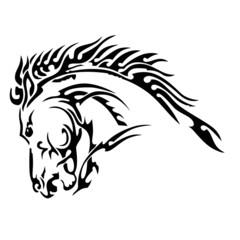 horse illistration