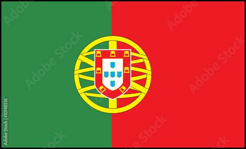 Drapeau portugal fichier vectoriel libre de droits sur - Drapeau portugais a imprimer ...
