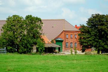 Alter friesischer Bauernhof