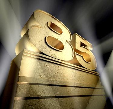 85 bithday monument