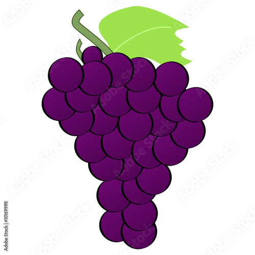 """Cartoon grapes"" Stock image and royalty-free vector files ..."