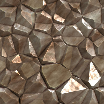 A rough and jagged stone texture that tiles seamlessly.