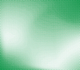 Illustration of background with green halftone