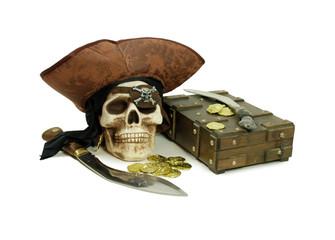 Pirate Skull  for storing items