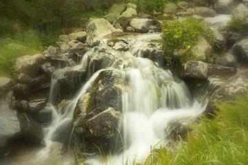 The mountany stream