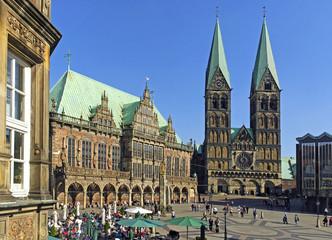 Hansestadt Bremen, Marktplatz, Rathaus