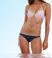 Beautiful underwear model