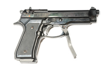 Small pistol with handle