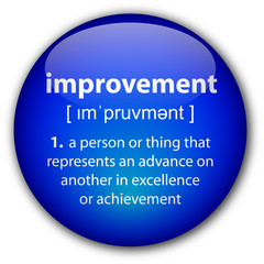 """""""improvement"""" button with definition"""