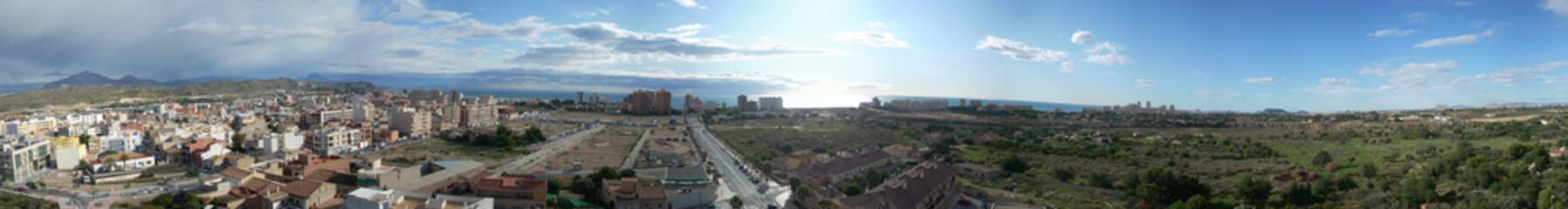 Foto op Canvas Panorama El Campello