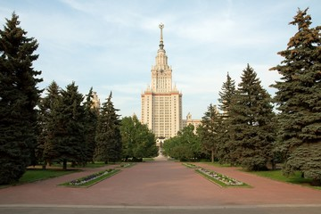 Lomonosov University in Moscow, Russian Federation