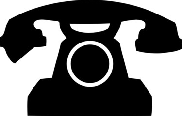 Phone. Symbol of phone for your design