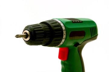 Drill Cordless screwdriver.