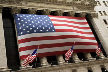 Outside of the New York Stock Exchange building