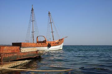 Black Sea, Boat, Crimea, Ukraine