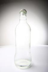fresh bottled water, high key lighting