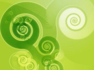 Abstract swirly spiral grungy organic design wallpaper