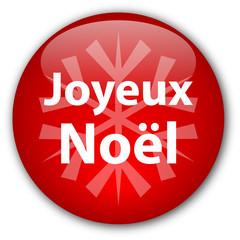 """Bouton """"Joyeux Noël"""""""