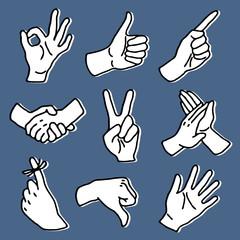 mains & signes