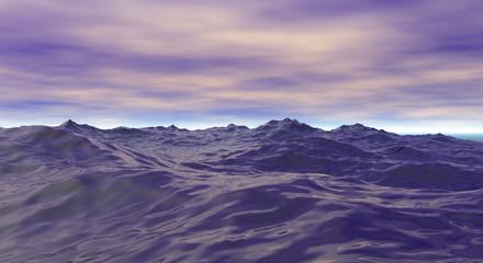 Océan et horizon