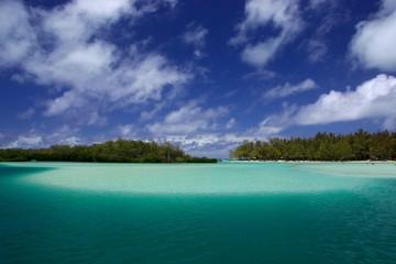 Lagon de l'Ile aux Cerfs Ile Maurice