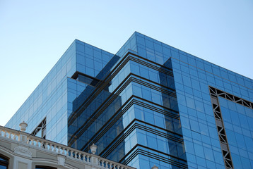 Office building and blue sky (6)