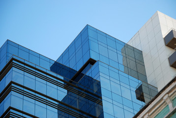 Office building and blue sky (5)