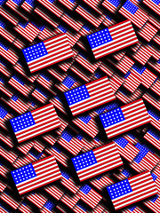 Many American Flags 46