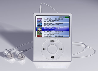 cutting edge mp3 player