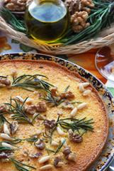 Castagnaccio - Dolci - All uso di Lucca Cucina della Toscana