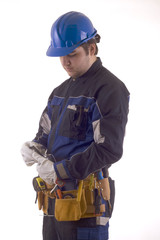 Construction worker outfit