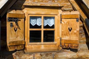 Fototapeta Traditional house in Zakopane obraz