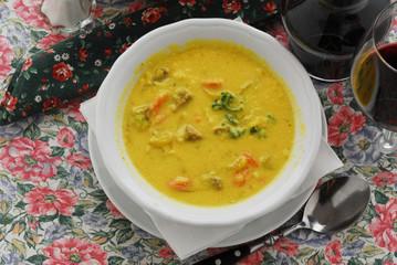 Zuppa gialla - Primo - Ricetta della Carinzia - Austria