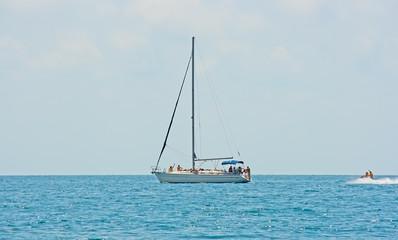 Yacht people.