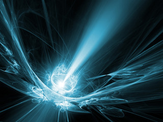 An illustration of an abstract light background